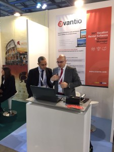 Avantio team with vacation software